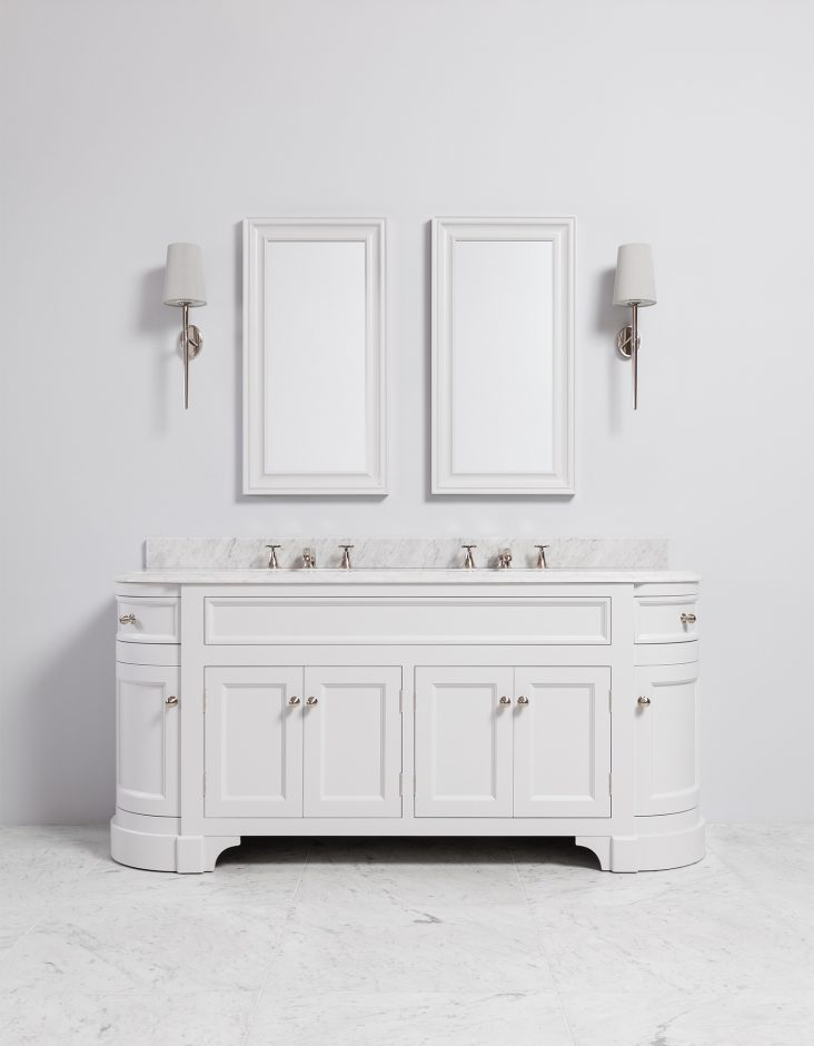double vanity unit