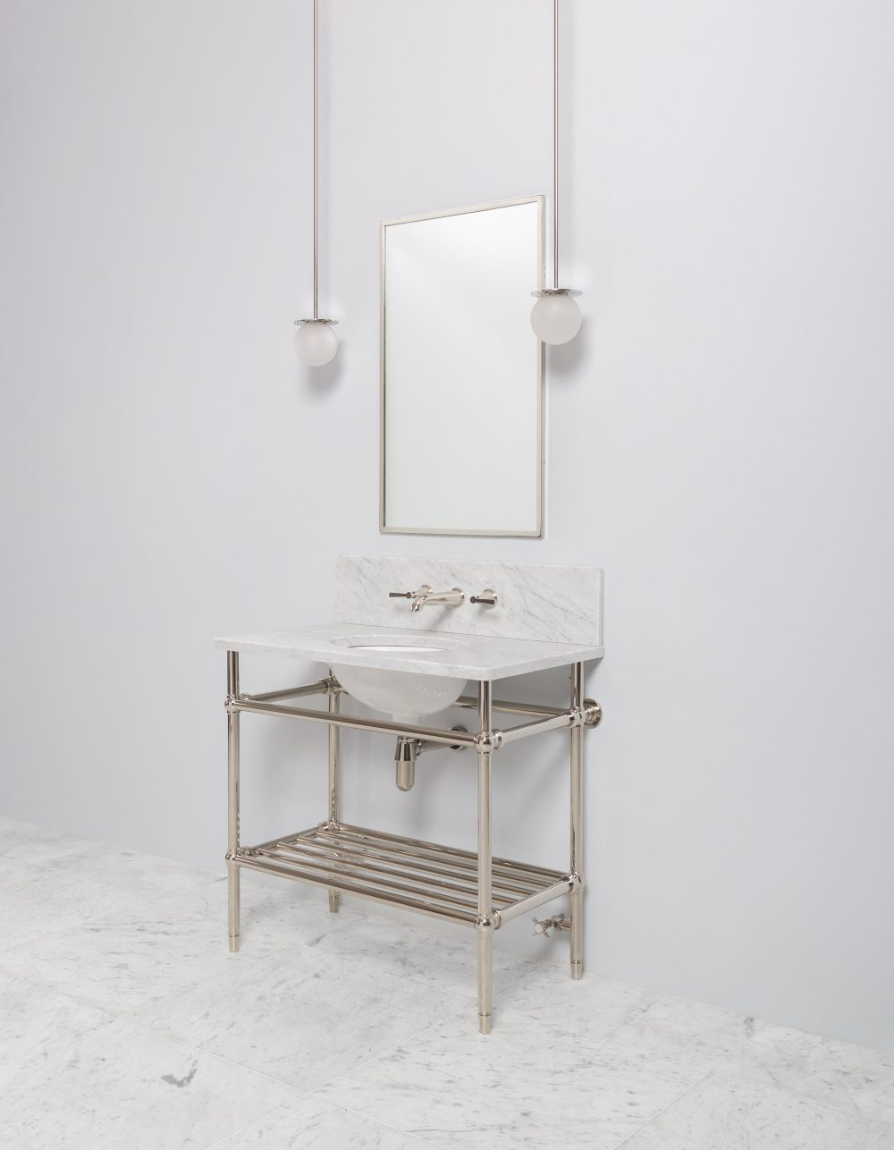 Bellmax Mid Metal Vanity Unit
